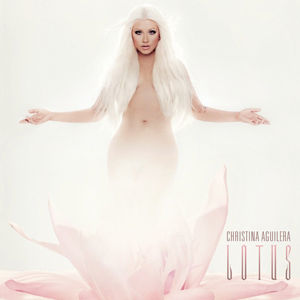 "Cover von Christina Aguileras Album ""Lotus"""