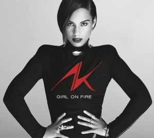 "CD Cover ""Girl on Fire"" von Alicia Keys"