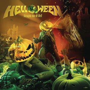 CD Cover von Straight Out Of Hell von Helloween