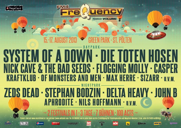 Frequency Line Up