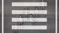 CD Cover Walking on a Chance von den Zebra Dots
