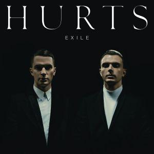 "Cover des zweiten Albums ""Exile"" der Band Hurts."