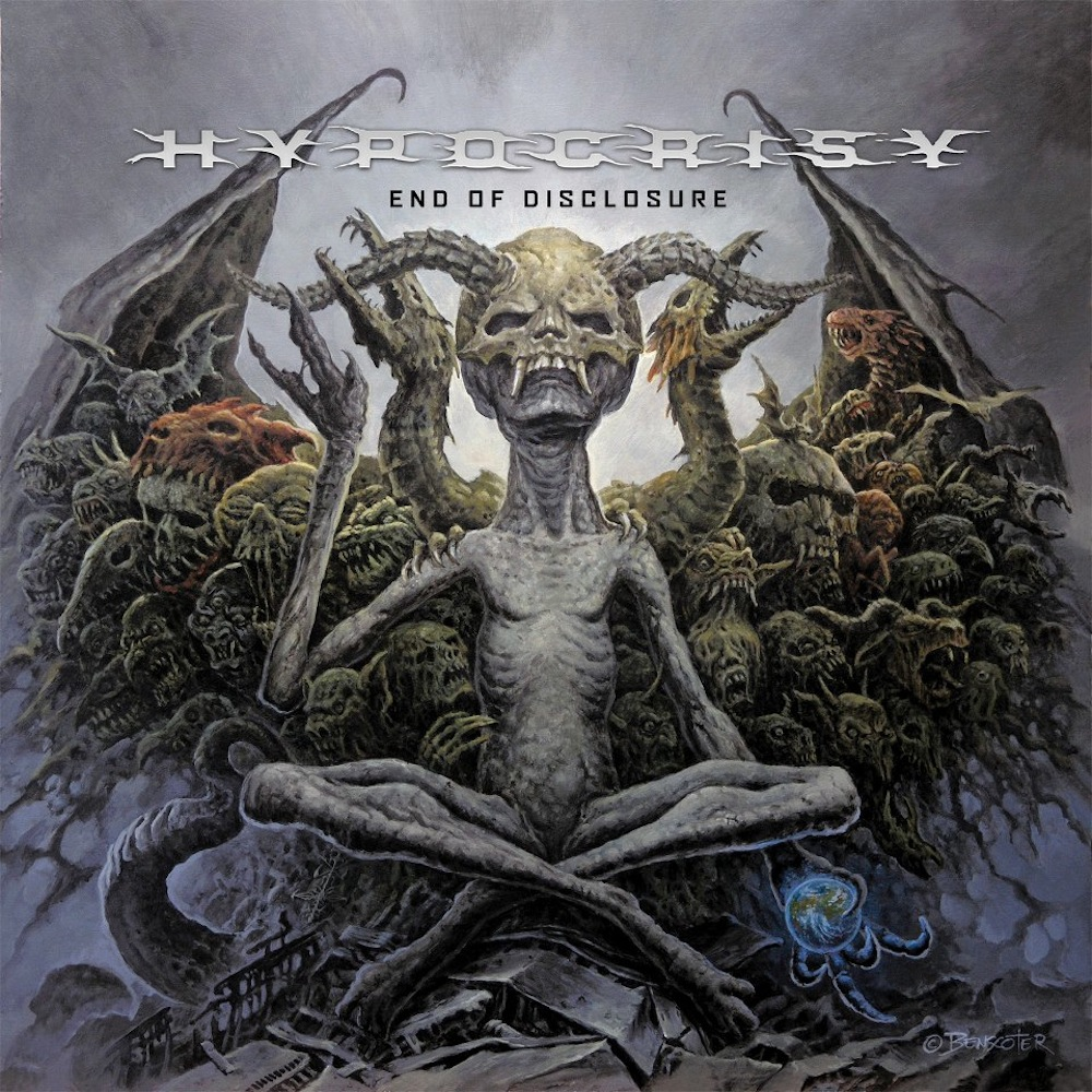 Hypocrisy - End of Dislosure - Cover