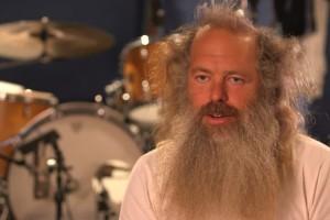Rick Rubin mit Black Sabbath im Studio