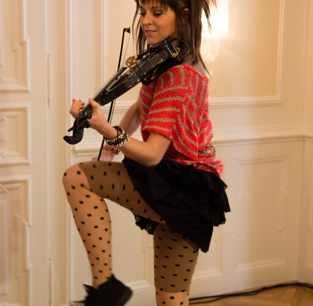 Lindsey Stirling beim Showcase