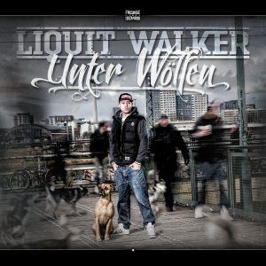 """CD Cover """"Unter Wölfen"""" von Liquit Walker"""