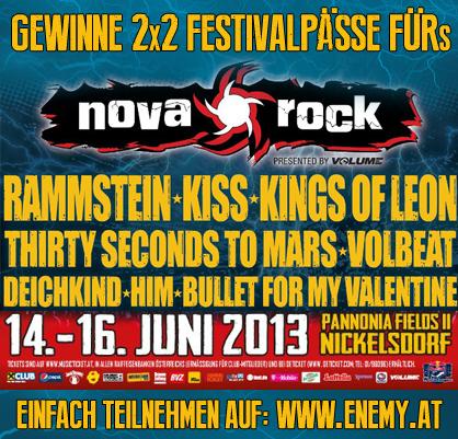 Nova Rock Gewinnspiel