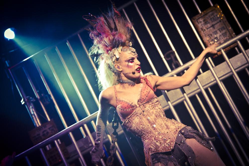 Emilie Autumn 2012 in der Szene Wien!