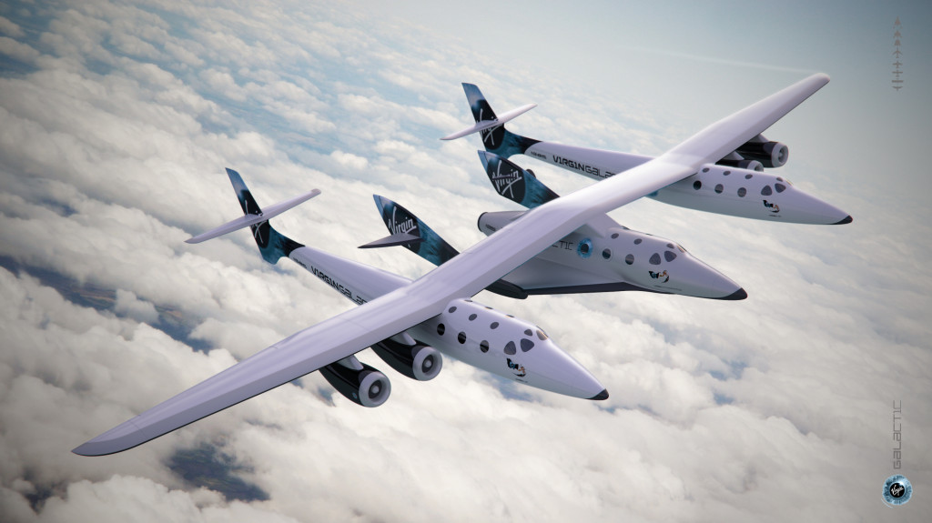 Virgin Galactic bei der Cinema Against Aids Gala