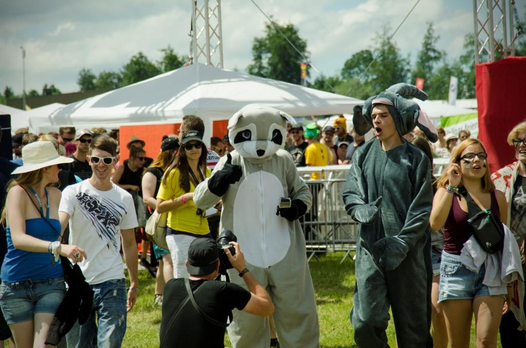 Wer schön sein will, muss am Southside Festival schwitzen