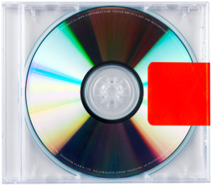CD Cover Yeezus