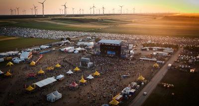 Nova Rock Luftaufnahme / Festival, Gelände