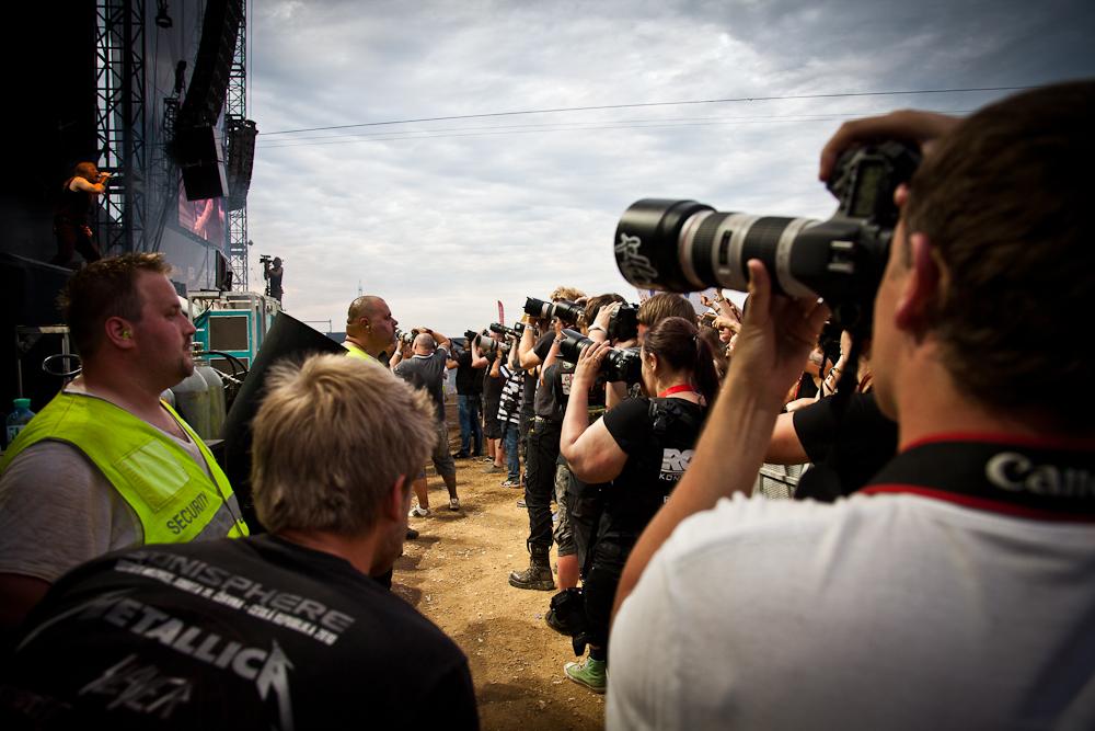 Kampf um die besten Nova Rock Fotos
