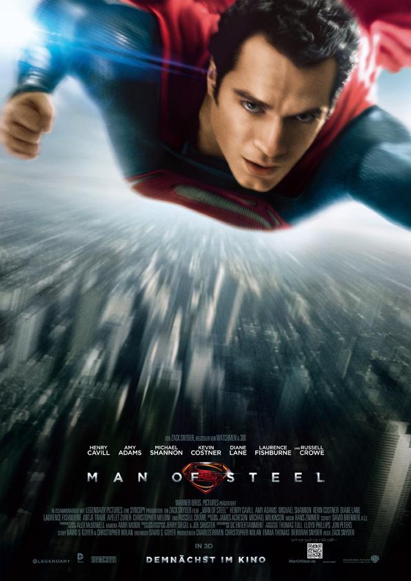 Man Of Steel Plakat