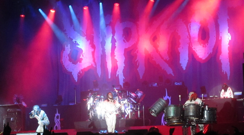 Slipknot live am Ozzfest