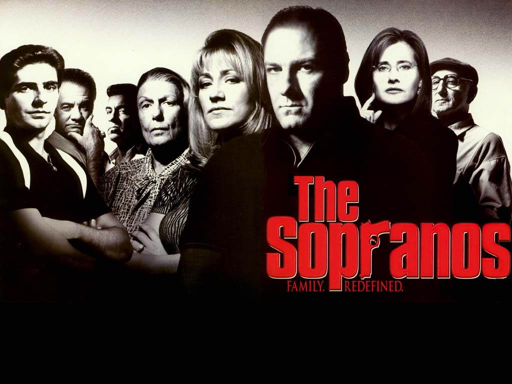 James Gandolfini in The Soparnos