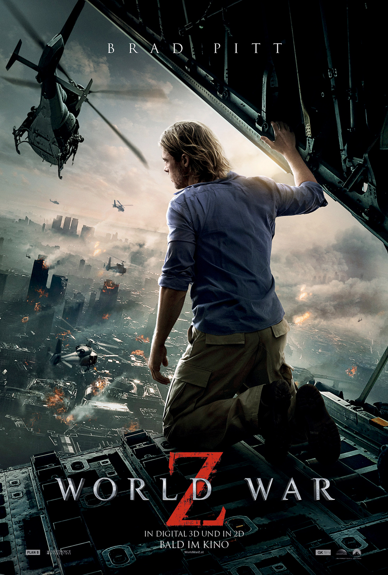Filmposter World War Z