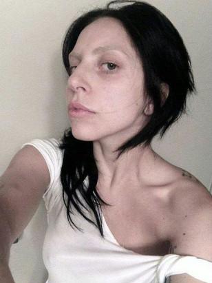 Lady Gaga ungeschminkt
