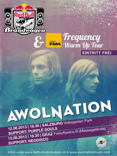 Red Bull Brandwagen FM4 Frequency AWOLNATION