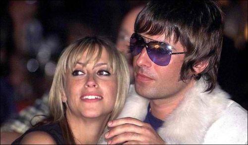 Nicole Appleton mit Liam Gallagher / © the sun