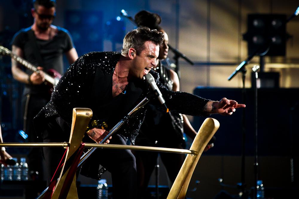 Robbie Williams rockt die Wiener Krieau