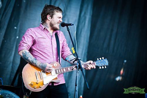 The Gaslight Anthem live am Frequency 2013
