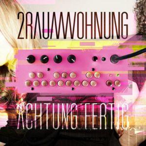 """CD Cover zum Album """"Achtung Fertig"""" von 2raumwohnung"""
