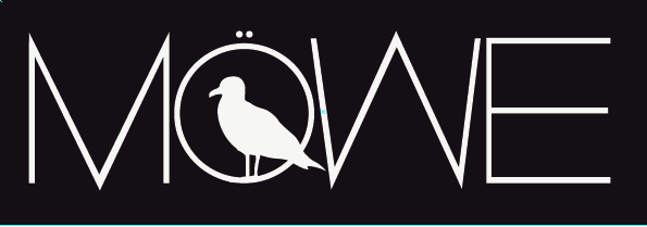 Das Logo vom Electronic Duo Möwe