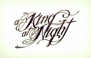Logo der deutschen Band A King At Night