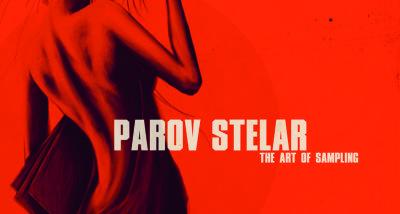 """Parov Stelar """"The Art Of Sampling"""" CD Cover"""