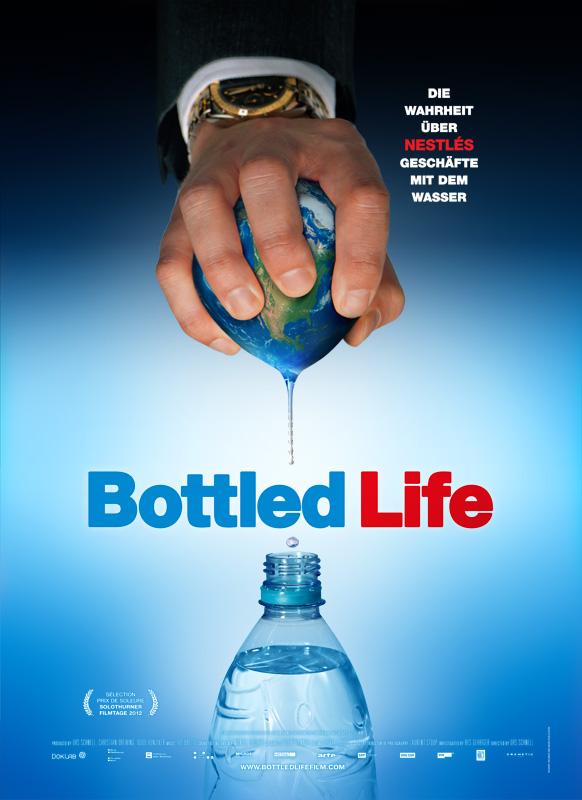 Urs Schnells Bottled Life über Wasser