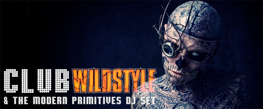 Zombie Boy beim Club Wildstyle