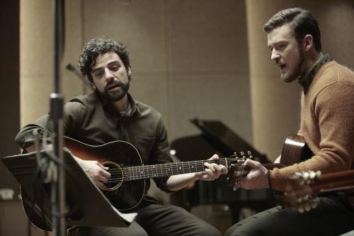 Oscar Isaac (re.) und Justin Timberlake
