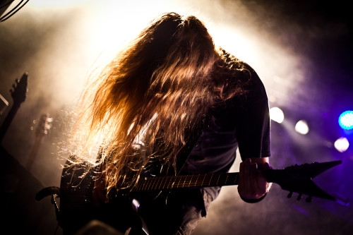 Decapitated wärmten das Publikum für Children Of Bodom auf