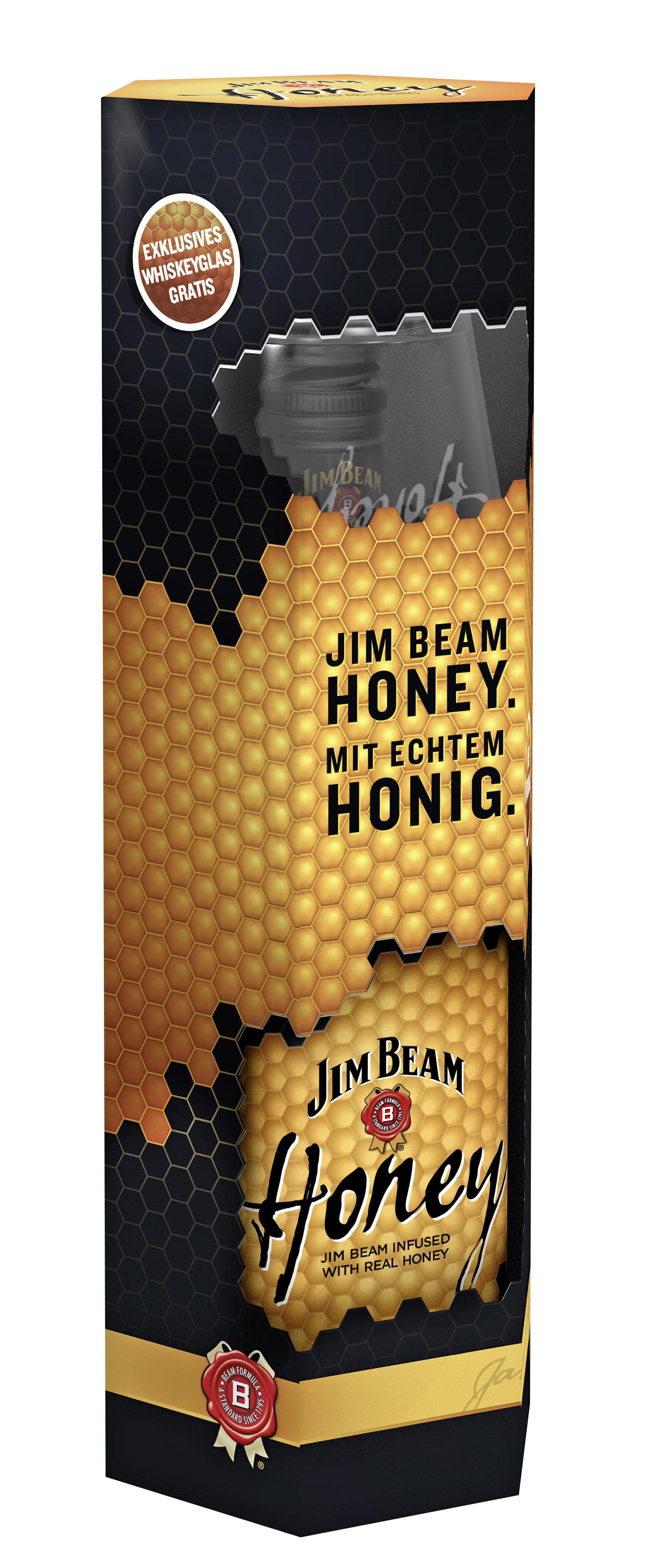 Jim Beam Honey mit echtem Honig