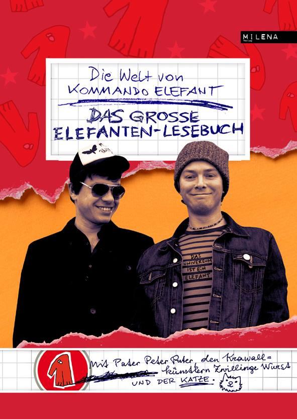 """Kommando Elefant """"Das große Elefanten-Lesebuch"""" Cover"""