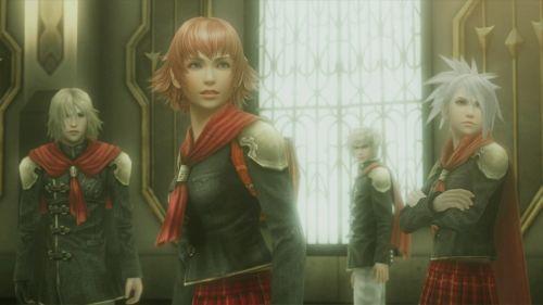 Vier Mitglieder der Klasse 0: Die Protagonisten von Final Fantasy Type-0 HD sind vielfältig im Charakter und Kampfstil. (c) Square Enix