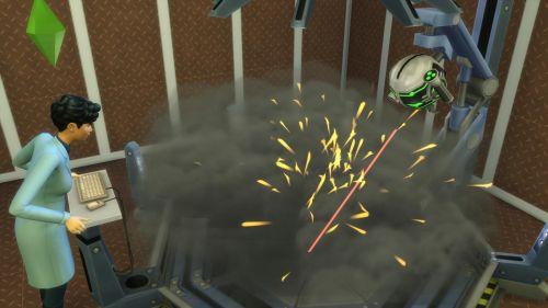 Neben dem robotischen Erfindungserbauer hält die Wissenschafts-Karriere noch jede Menge anderer spielerischer Instrumente bereit. ©Screenshot
