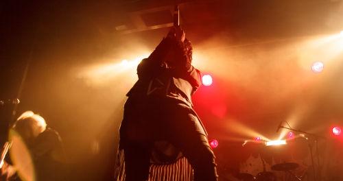 Tasuro, Sänger von MUCC, überwltigte mit Präsenz und Stimme. ©Katharina Dohle