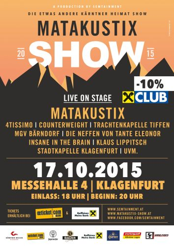 Matakustix Show_Upcoming