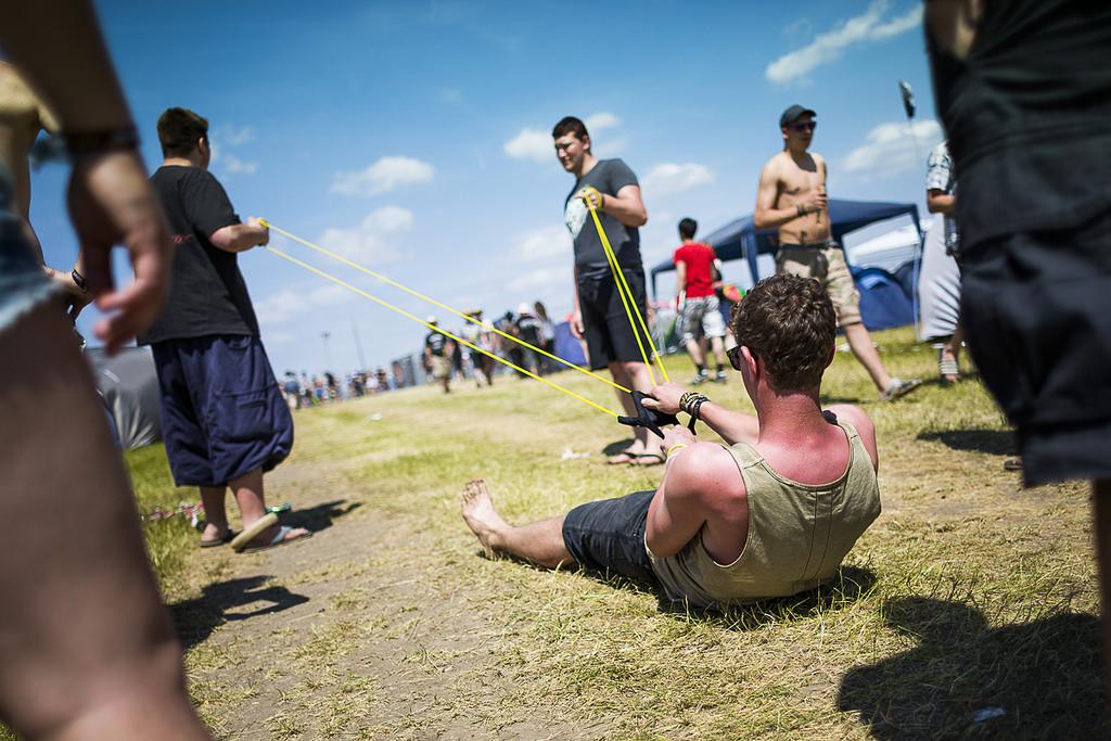 Einmal Fliegen, bitte! - Festivals 2015