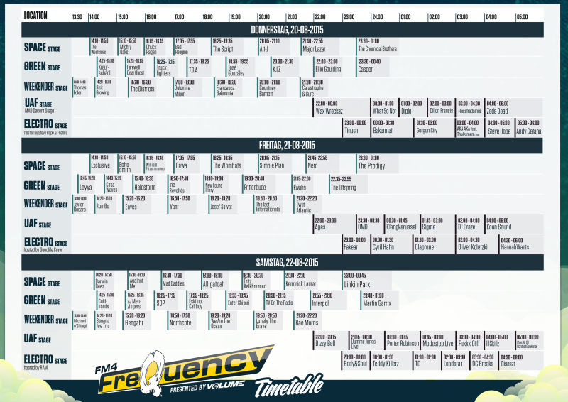 fq15 timetable