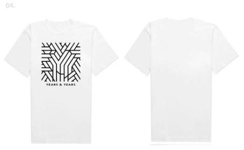 Das Unisex-Logo-Shirt mit Albumartwork gibt's in Größe L