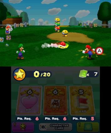 Kämpfe werden mittels Tastendruck bestritten, Karten sind jedoch stets via Touchscreen einsetzbar.