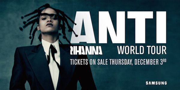 Rihanna Anti World Tour