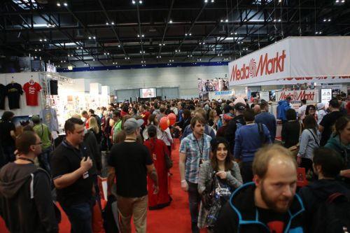 Trotz ausverkaufter Comic Con gab es kein Gedränge. (c) David Bitzan