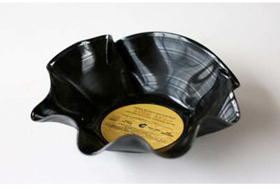 DIY Vinyl Schüssel