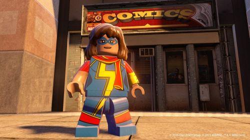 In Lego Marvel's Avengers gibt's auch Helden abseits der Filmhits zu spielen. Wie zum Beispiel Ms. Marvel