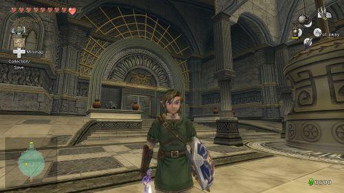 Kein Legend of Zelda ohne atemberaubende Tempel