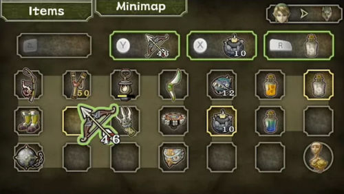 Die bislang einfachste und schnellste Inventarsteuerung im Legend of Zelda-Universum